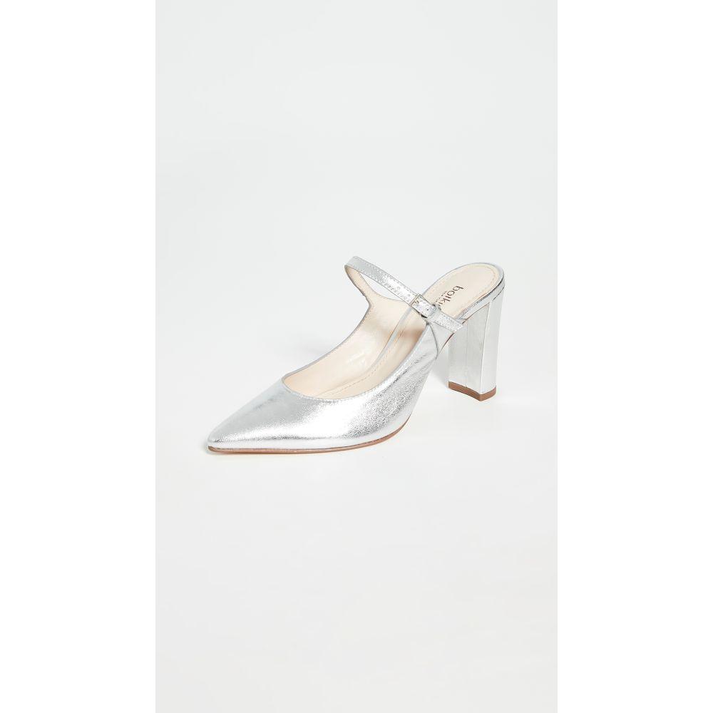 ボトキエ Botkier レディース サンダル・ミュール シューズ・靴【Hannah Heel Mules】Silver