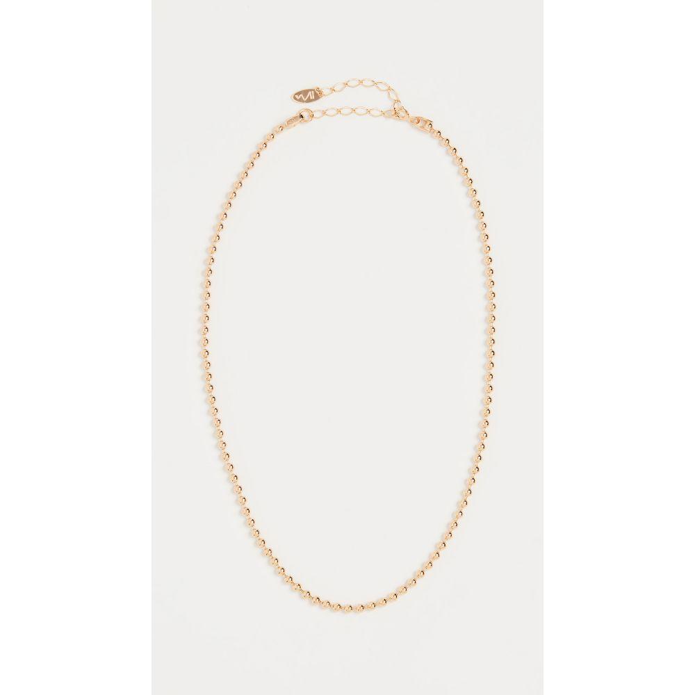メゾンアイレム Maison Irem レディース ネックレス チョーカー ジュエリー・アクセサリー【Ball Chain Choker Necklace】Gold