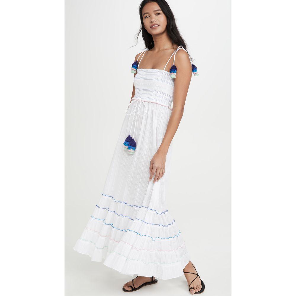 プラヤ ルシラ Playa Lucila レディース ビーチウェア ワンピース・ドレス 水着・ビーチウェア【Maxi Dress】White