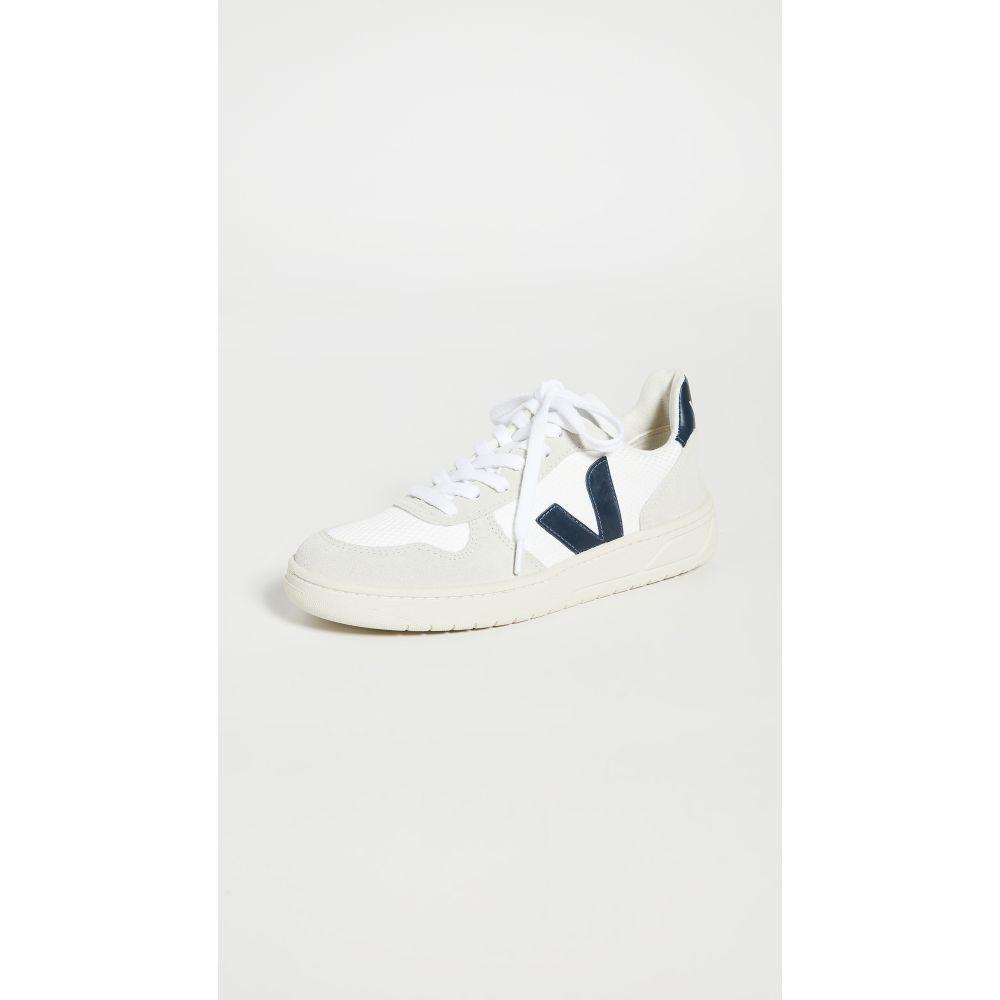ヴェジャ Veja レディース スニーカー シューズ・靴【V-10 Sneakers】White/Nautico