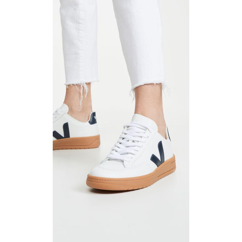 ヴェジャ Veja レディース スニーカー シューズ・靴【V-12 Sneakers】Extra White/Nautico/Gum Sole