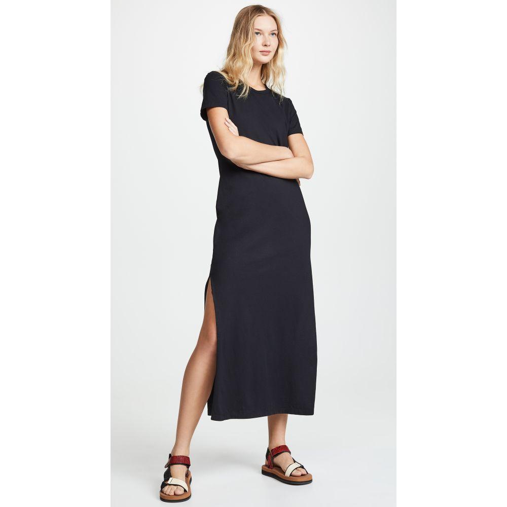 エージー AG レディース ワンピース マキシ丈 ワンピース・ドレス【Alana Relaxed Maxi Dress】True Black