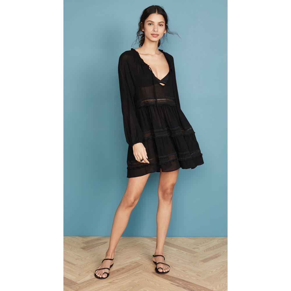エバージェイ Eberjey レディース ビーチウェア ワンピース・ドレス 水着・ビーチウェア【Summer Of Love Sofia Dress】Black