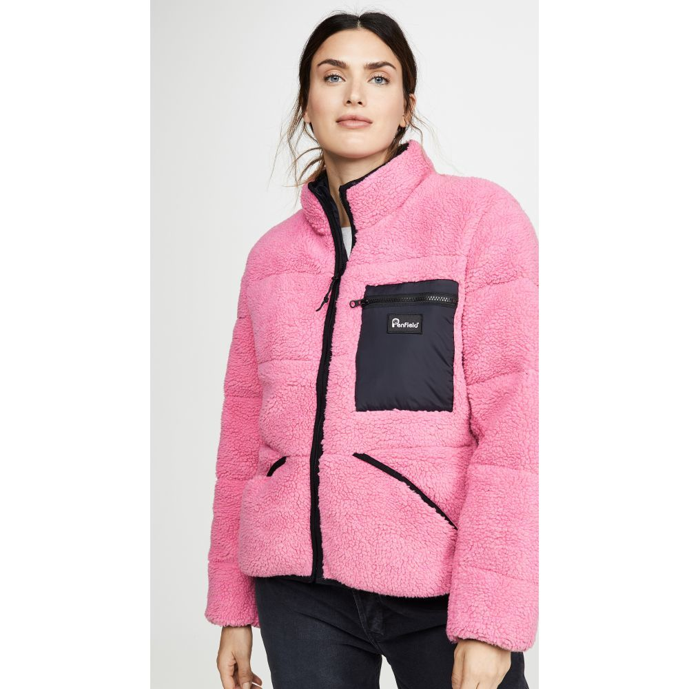 ペンフィールド Penfield レディース フリース トップス【Williston Fleece】Pink