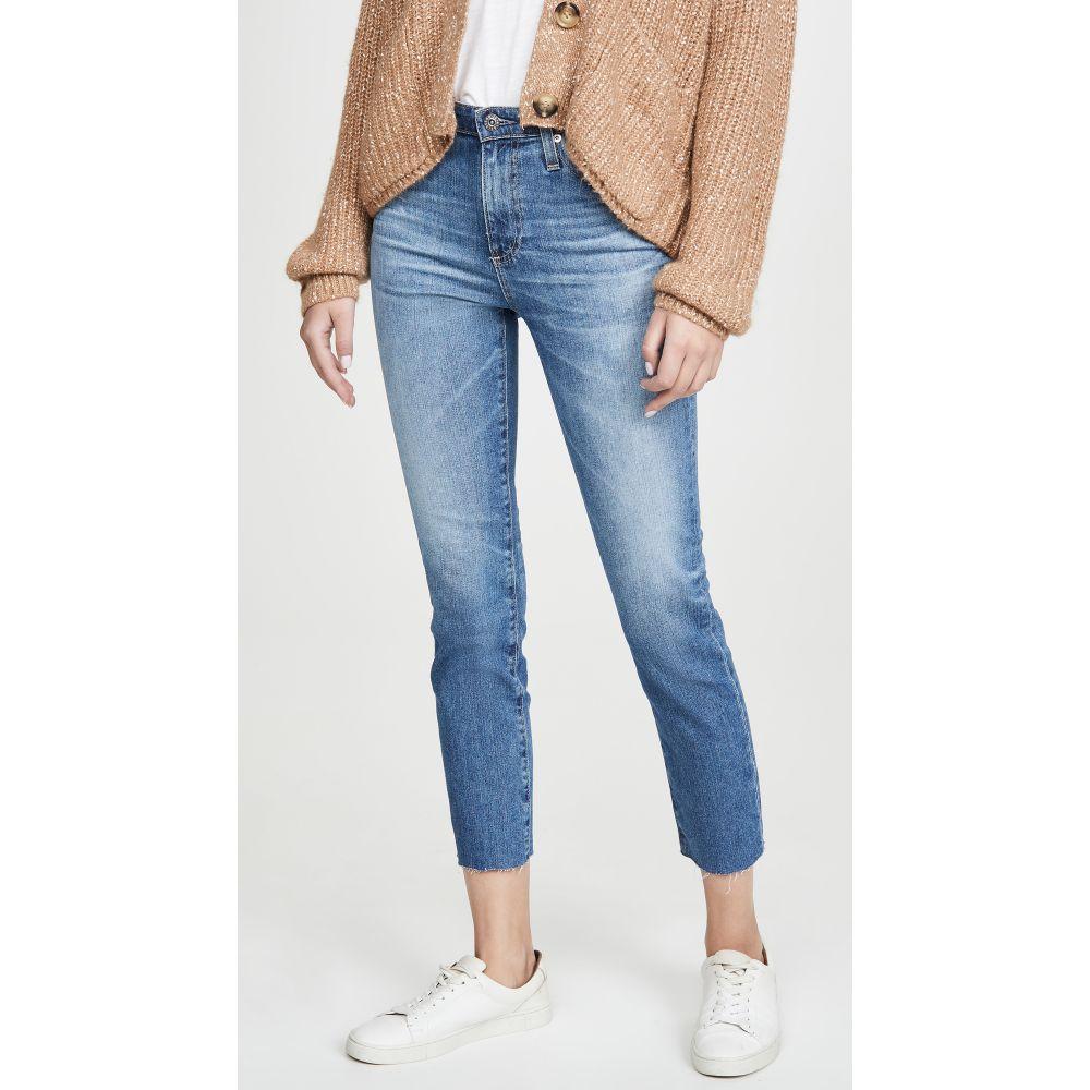 エージー AG レディース ジーンズ・デニム ボトムス・パンツ【Isabelle High Rise Straight Crop Jeans】Years Duplicity