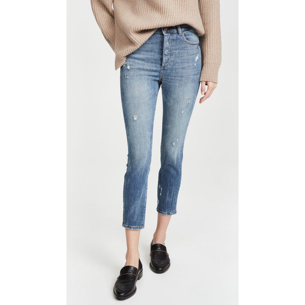 ディーエル1961 DL1961 レディース ジーンズ・デニム ボトムス・パンツ【Farrow Cropped Vintage High Rise Skinny Jeans】Tacoma