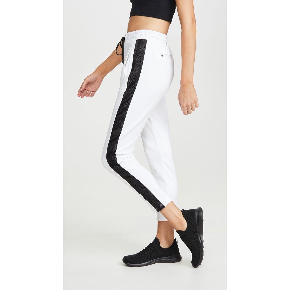 コーラル KORAL ACTIVEWEAR レディース ボトムス・パンツ 【Zone Scuba Pants】White/Black