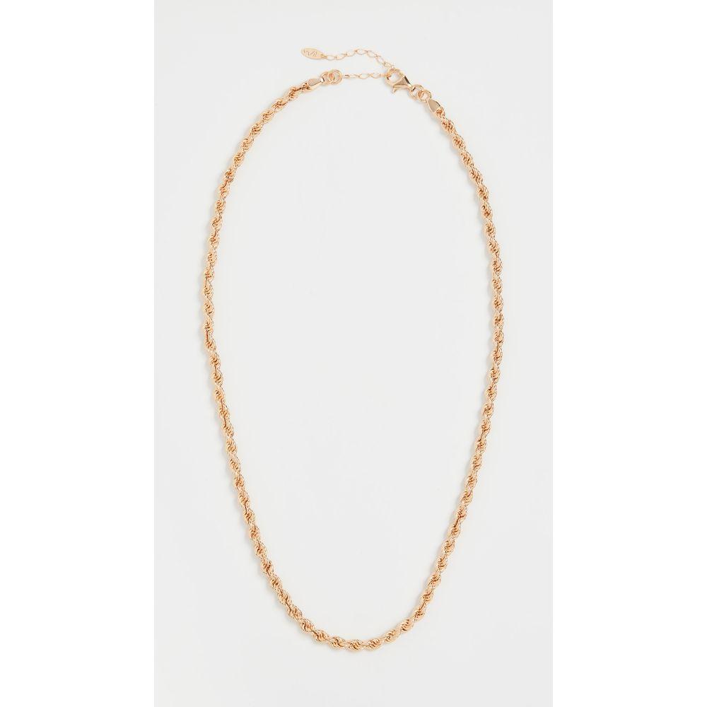 メゾンアイレム Maison Irem レディース ネックレス ジュエリー・アクセサリー【Rope Chain Necklace Glenn 3】Gold