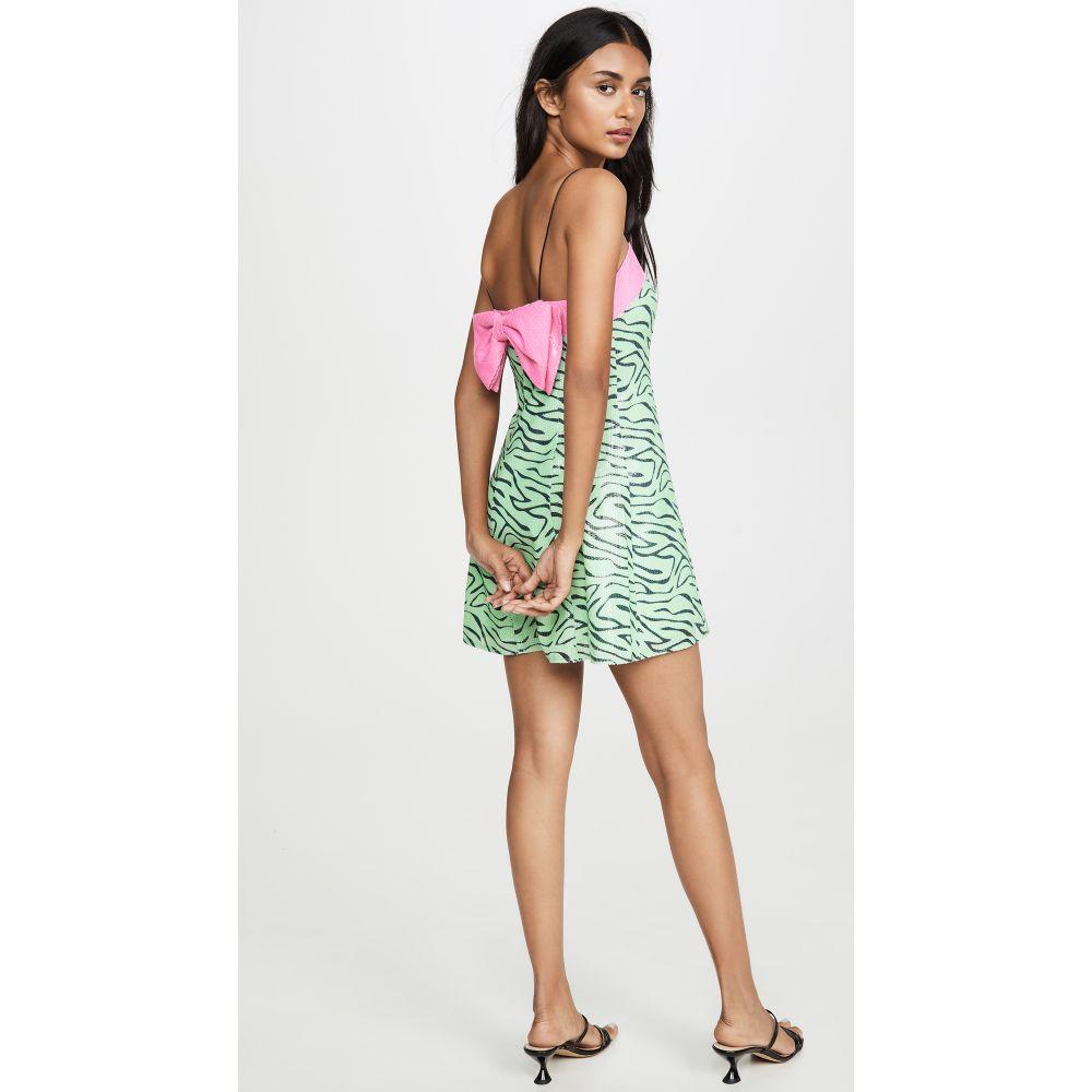 オリビアルービン Olivia Rubin レディース ワンピース ワンピース・ドレス【Lettie Dress】Mint Zebra