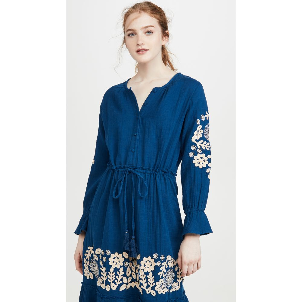 ローラー ラビット Roller Rabbit レディース ビーチウェア ワンピース・ドレス 水着・ビーチウェア【Margoa Dress】Blue
