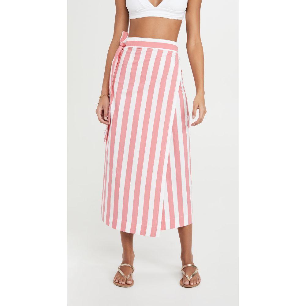 トゥーシー Tooshie レディース ビーチウェア スカート 水着・ビーチウェア【Stripe Skirt】Pink Stripe