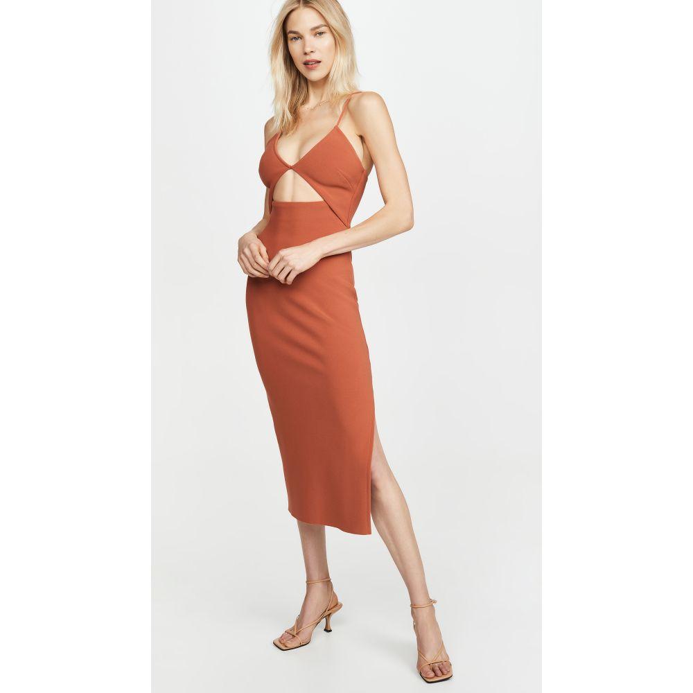 ベック アンド ブリッジ Bec & Bridge レディース ワンピース ミドル丈 ワンピース・ドレス【Ruby Midi Dress】Rust