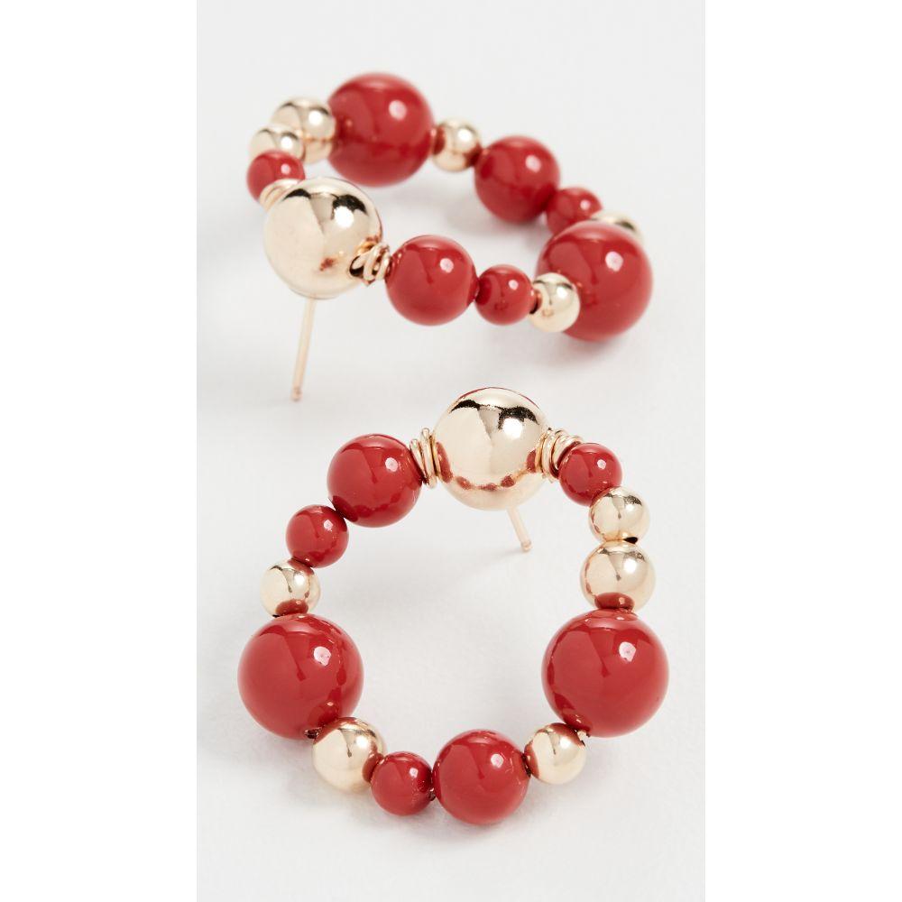 ベックジュエルズ Beck Jewels レディース イヤリング・ピアス ジュエリー・アクセサリー【Crimson Coral Fiuggi OG Studs】Crimson Coral