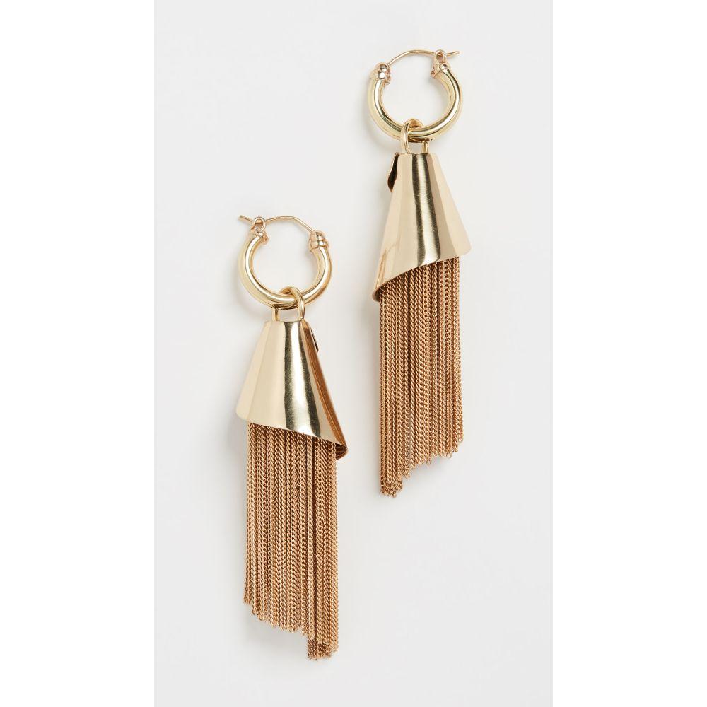 エラリー Ellery レディース イヤリング・ピアス ジュエリー・アクセサリー【Amplifier Spiral Chain Earrings】Gold