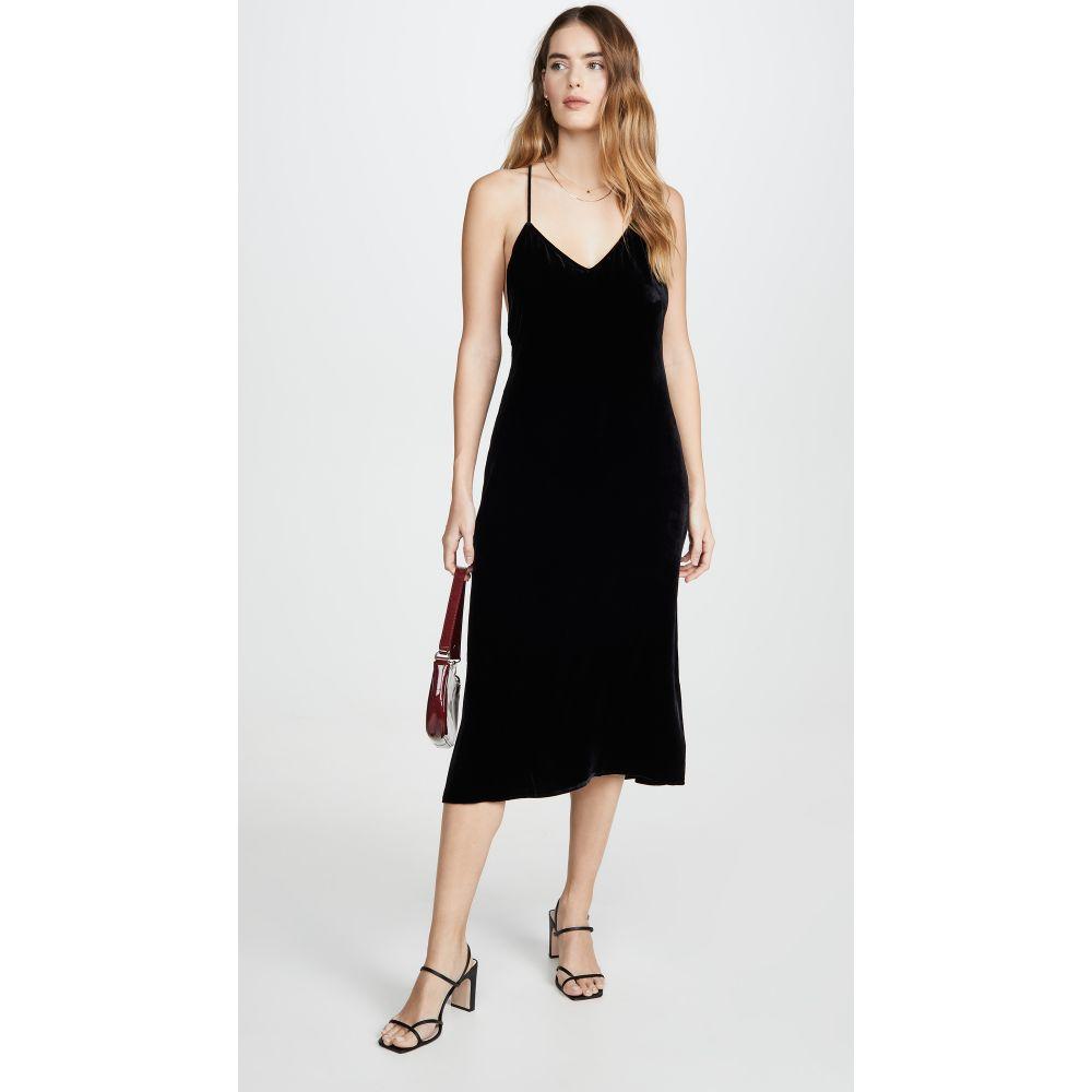 リフォーメーション Reformation レディース ワンピース ワンピース・ドレス【Moore Dress】Black