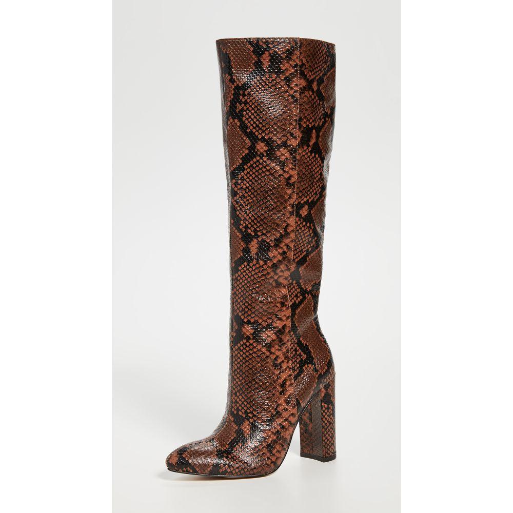 ヴィラ ルージュ Villa Rouge レディース ブーツ シューズ・靴【Klark Tall Boots】Cognac/Black