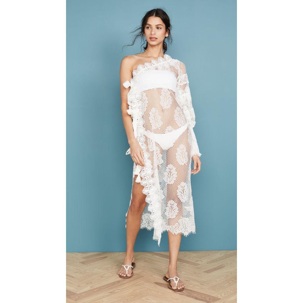 Waimari レディース ビーチウェア ワンピース・ドレス 水着・ビーチウェア【La Croisette Dress】Ivory