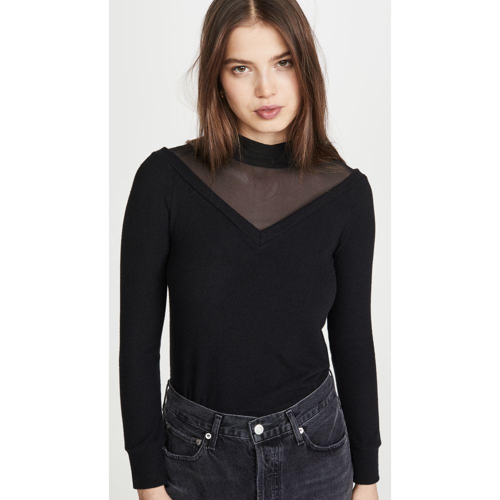 エルエヌエー LNA レディース ニット・セーター トップス【Brushed Adana Sweater】Black