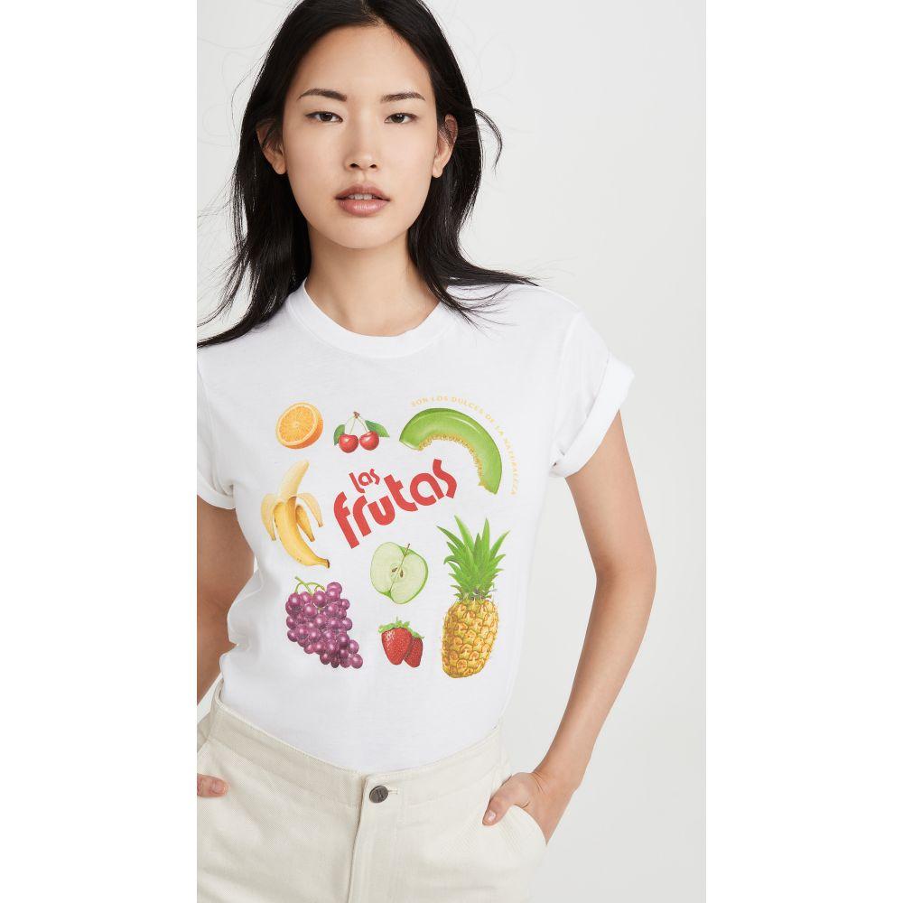 モノグラム Monogram レディース Tシャツ トップス【Las Fruitas Tee】White