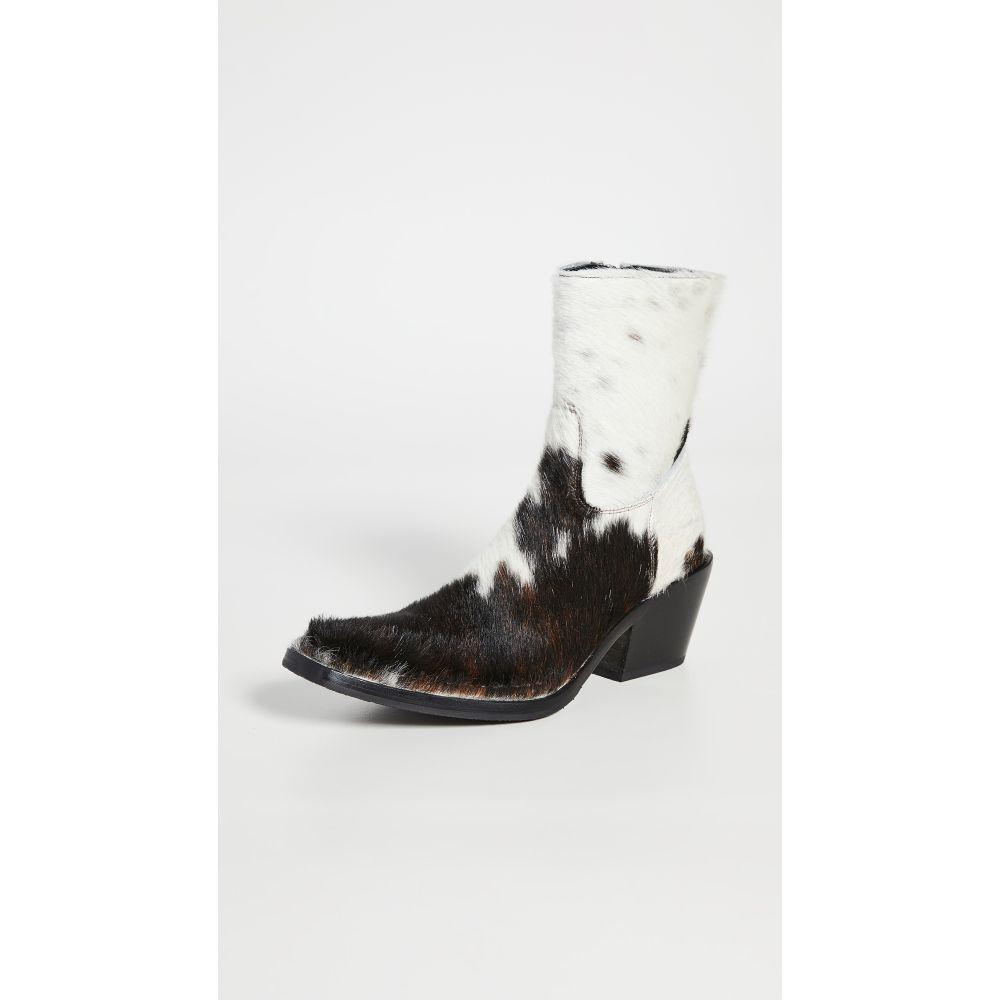 アクネ ストゥディオズ Acne Studios レディース ブーツ ブーティー シューズ・靴【Bruna Animation Booties】Brown/White