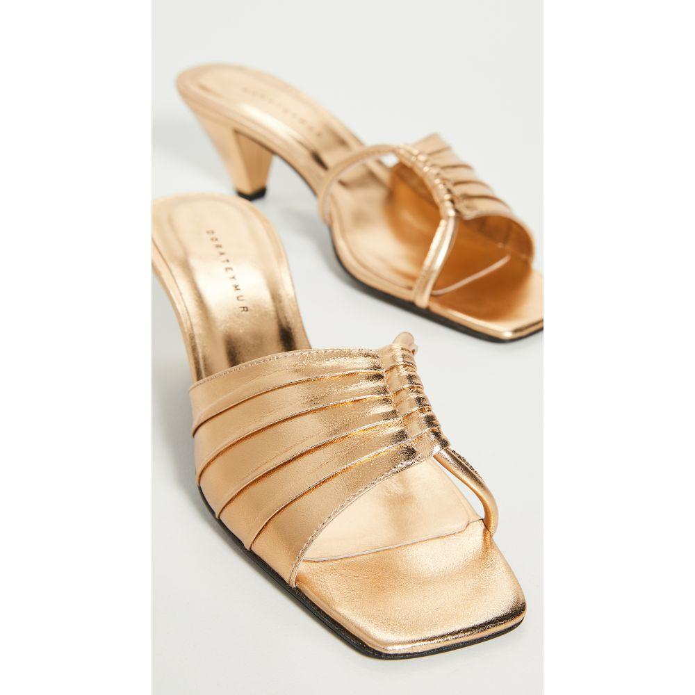 ドラティムール Dorateymur レディース サンダル・ミュール シューズ・靴【103 Sandals】Gold