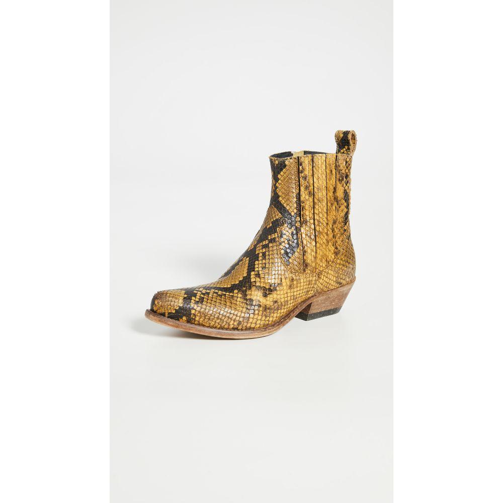 ゴールデン グース Golden Goose レディース ブーツ シューズ・靴【Santiago Boots】Mustard/Black