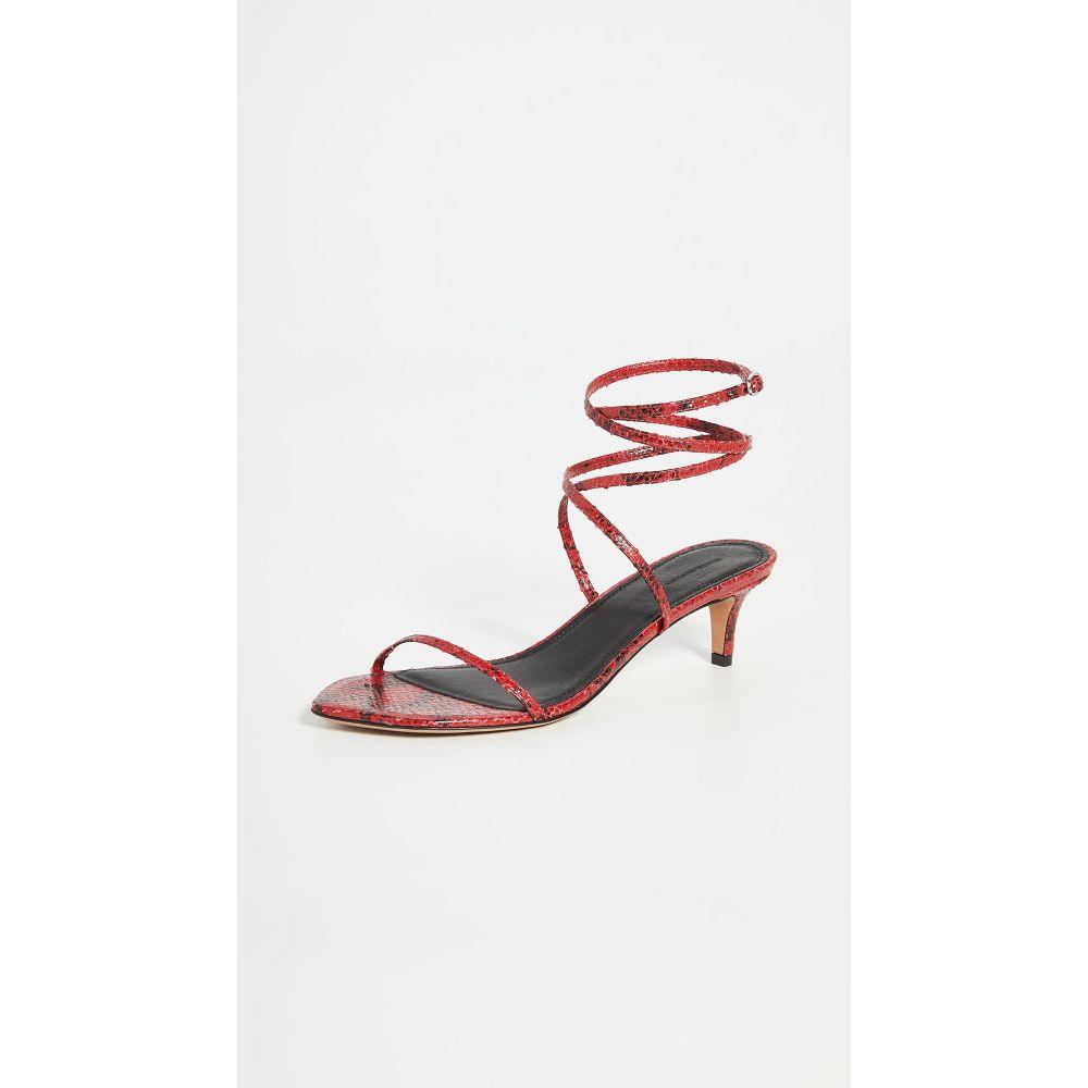 【本物新品保証】 イザベル マラン Isabel Marant レディース サンダル・ミュール シューズ・靴【Aridee Sandals】Red, Fashion Bonita dc126a64
