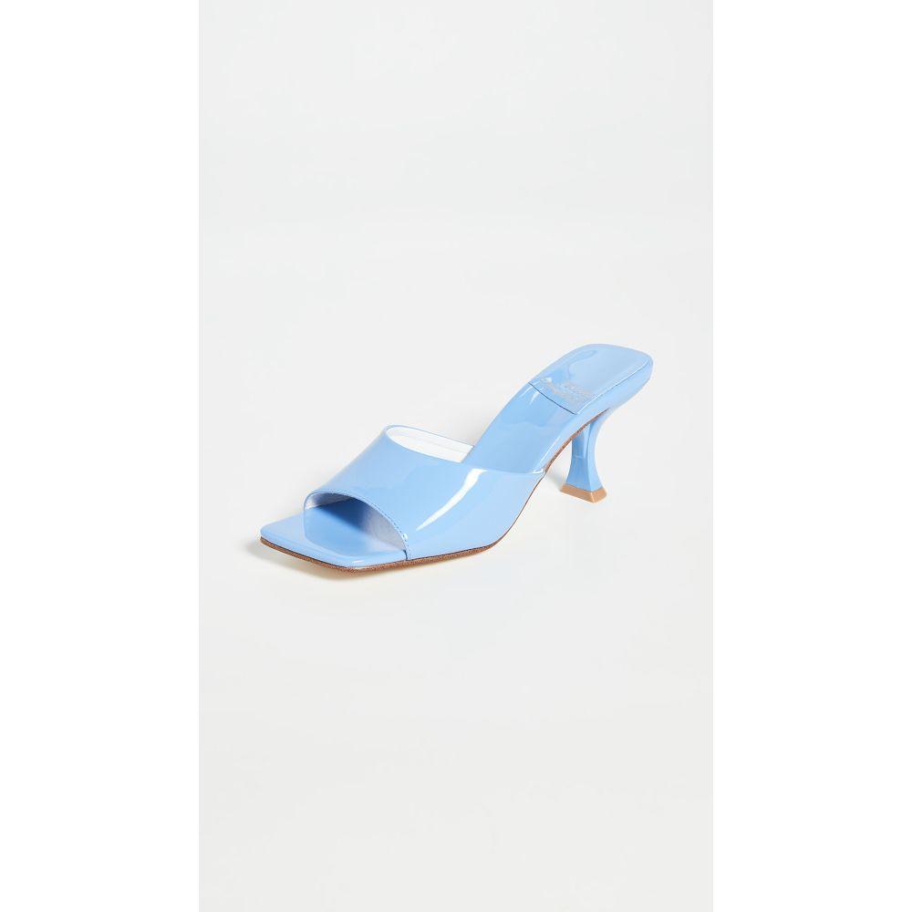 ジェフリー キャンベル Jeffrey Campbell レディース サンダル・ミュール シューズ・靴【Mr-Big Mules】Blue
