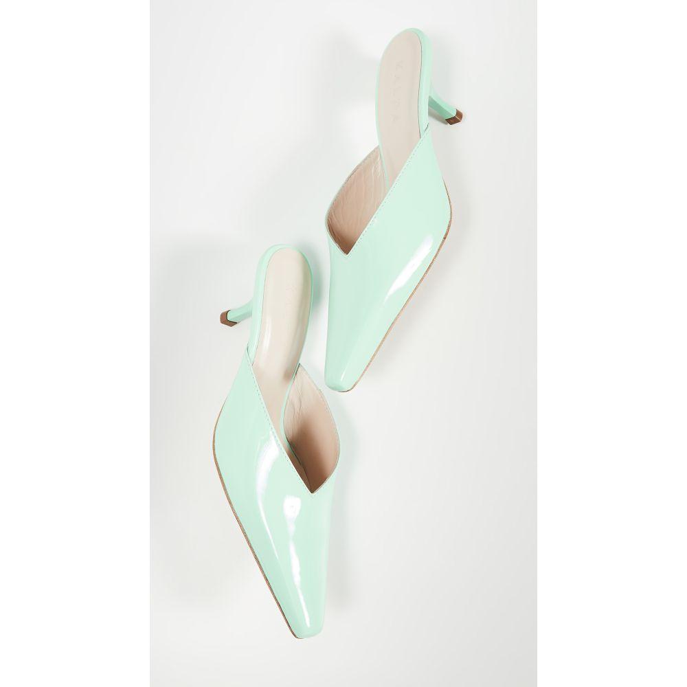カルダ Kalda レディース サンダル・ミュール シューズ・靴【Alba Mint Mules】Aqua