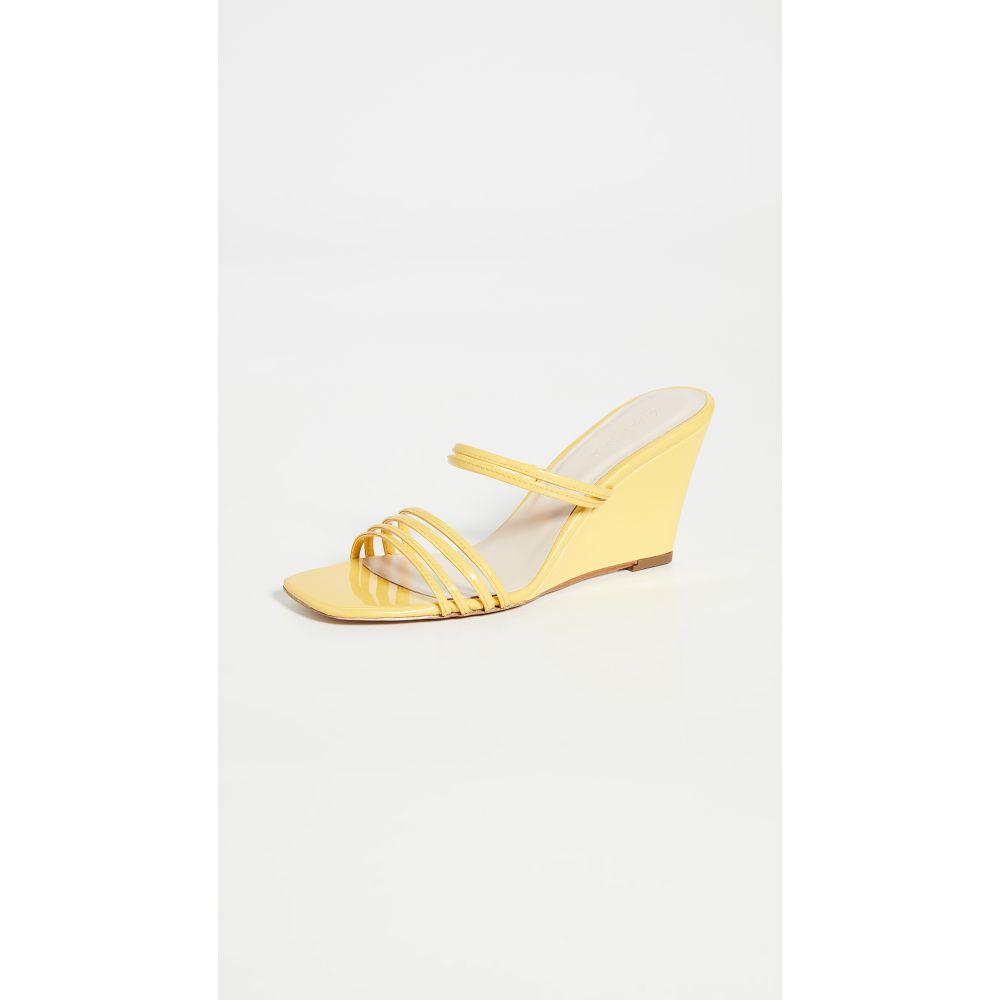 カルダ Kalda レディース サンダル・ミュール ウェッジソール シューズ・靴【Simon Wedge Sandals】Yellow