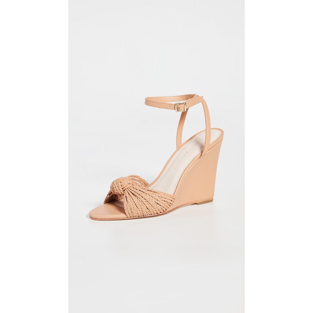 ロフラーランドール Loeffler Randall レディース サンダル・ミュール ウェッジソール シューズ・靴【Rosalind Woven Knot Wedge Sandals】Dune