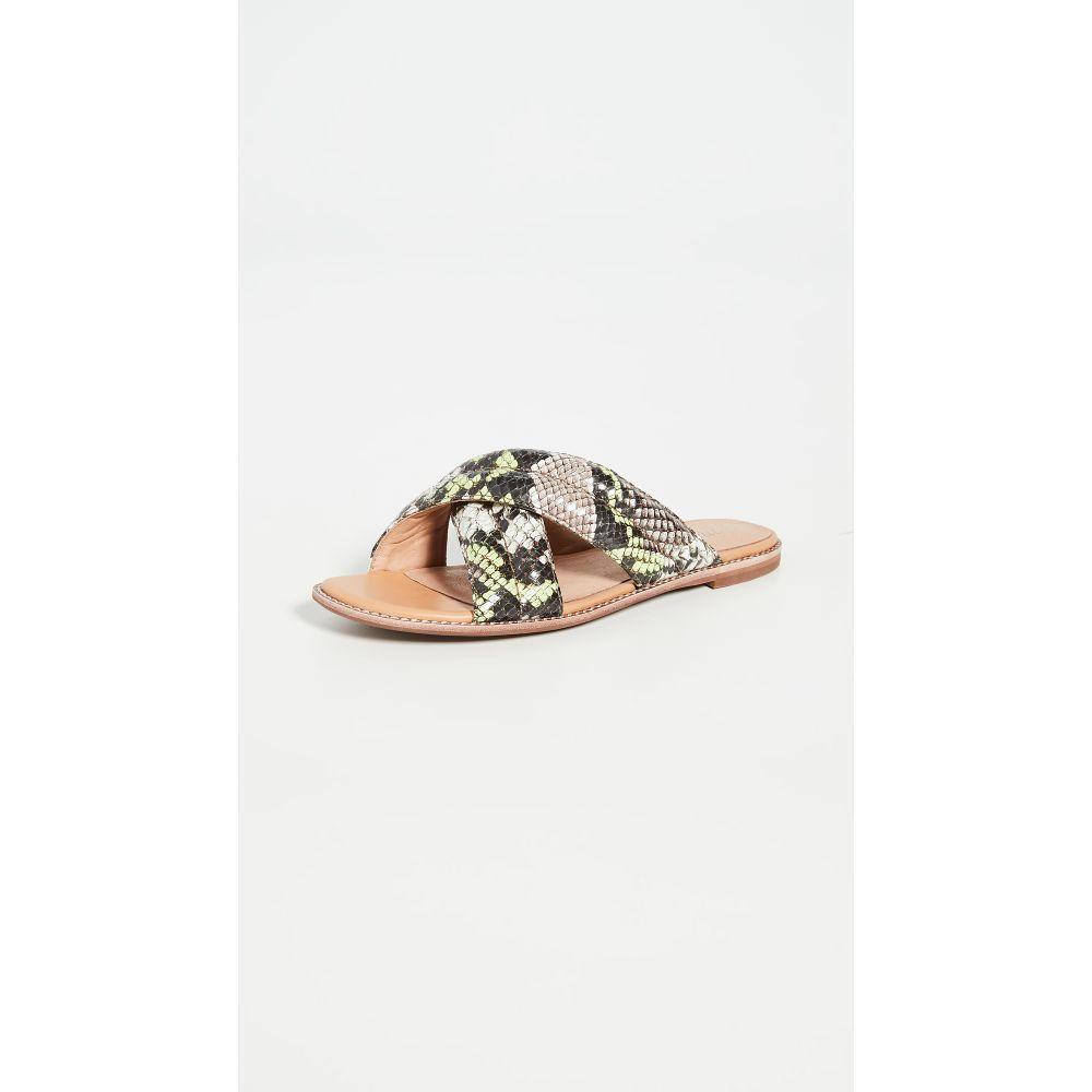メイドウェル Madewell レディース サンダル・ミュール シューズ・靴【Skyler Slide Sandals】Mint Cream Multi