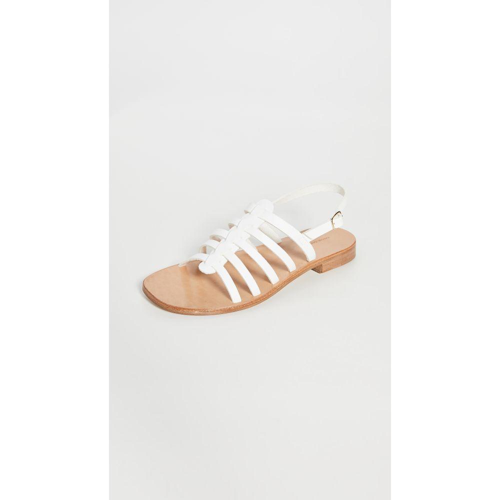 マンサーガブリエル Mansur Gavriel レディース サンダル・ミュール シューズ・靴【Campania Fino Sandals】White