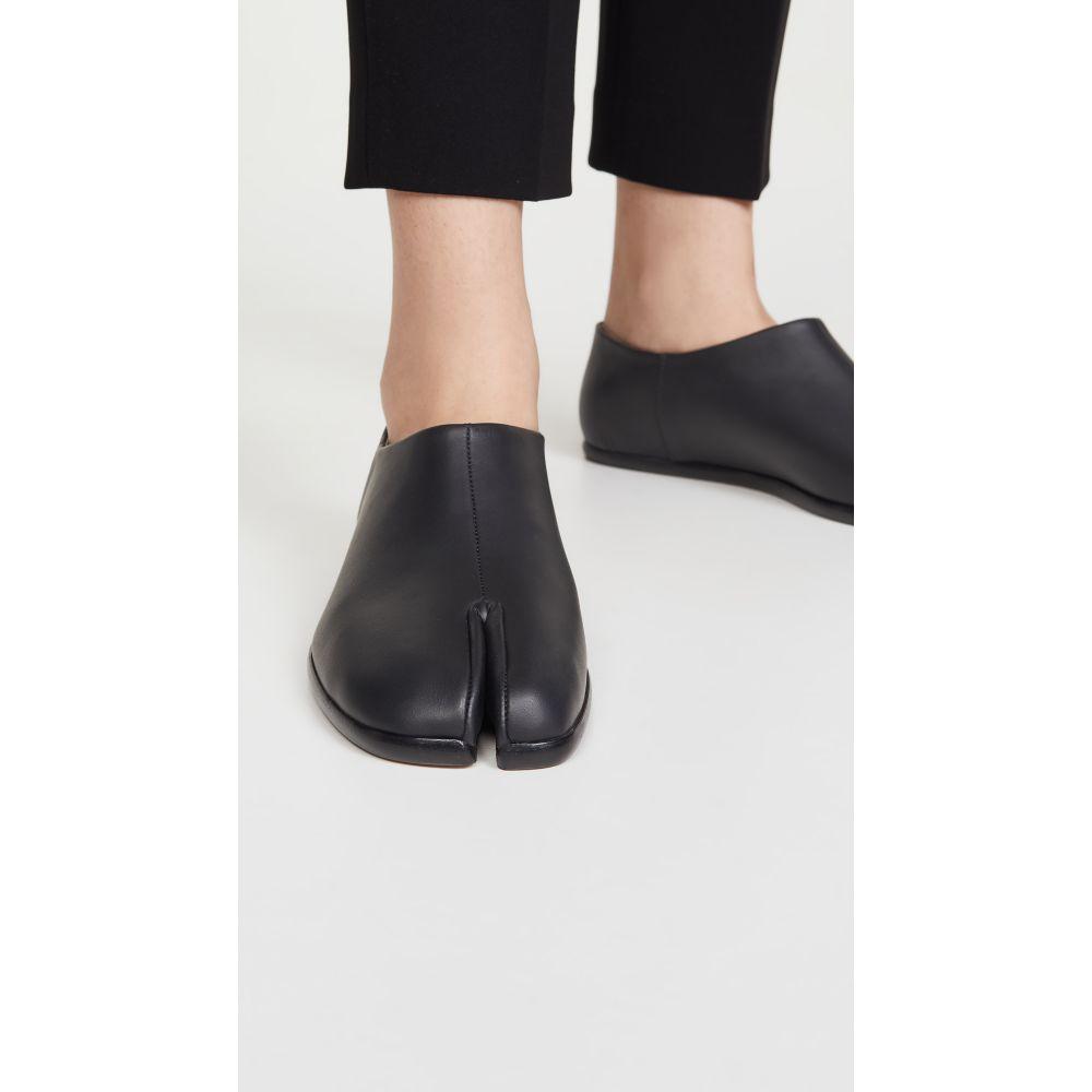 メゾン マルジェラ Maison Margiela レディース スリッポン・フラット シューズ・靴【Tabi Flat Utilitarian Mules】Black