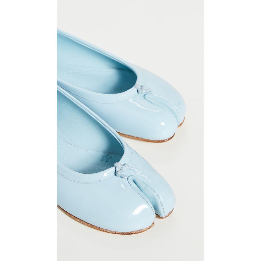 メゾン マルジェラ Maison Margiela レディース スリッポン・フラット バレエシューズ シューズ・靴【Tabi Ballet Flat】Winter Sky