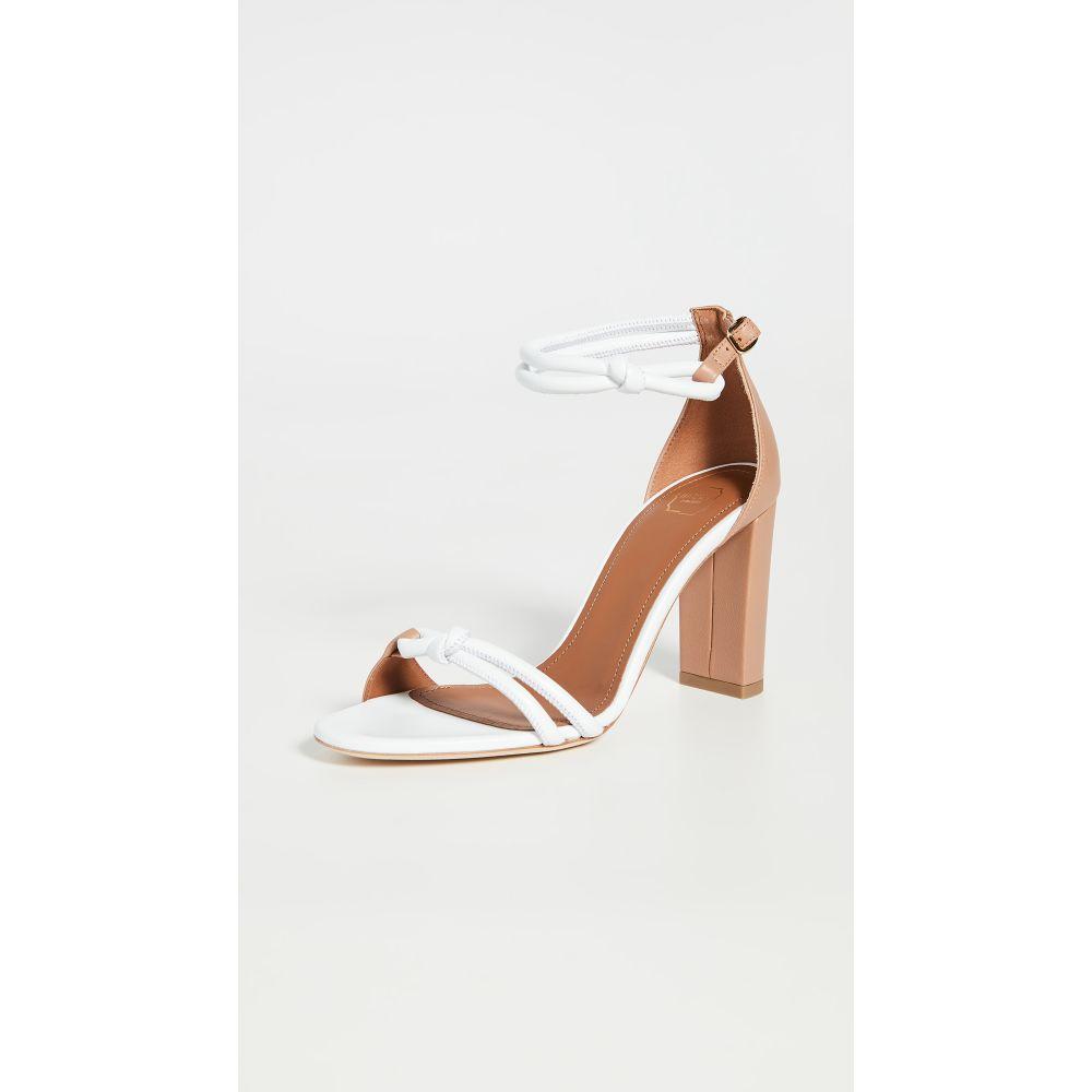 マローンスリアーズ Malone Souliers レディース サンダル・ミュール シューズ・靴【85mm Fenn Sandals】White/Nude