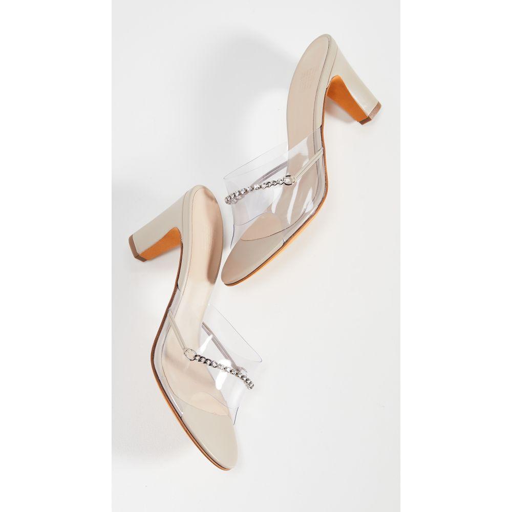 マリアム ナッシアー ザデー Maryam Nassir Zadeh レディース サンダル・ミュール シューズ・靴【Paloma Mule Sandals】Sand