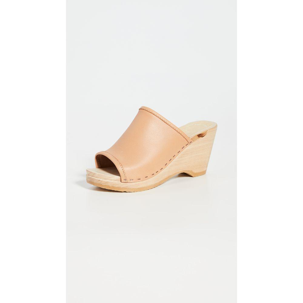 ナンバーシックス No.6 レディース クロッグ ウェッジソール シューズ・靴【Daria Wedge Clogs】Naked
