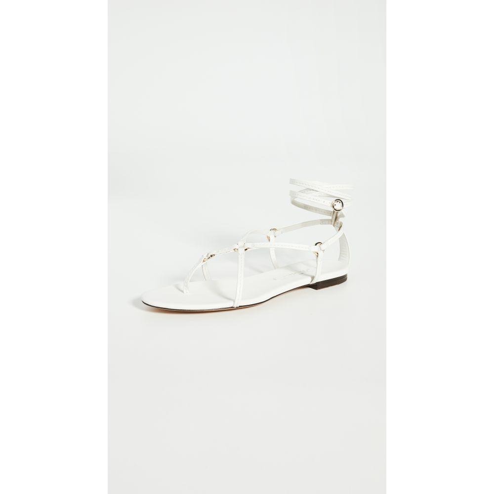 スリーワン フィリップ リム 3.1 Phillip Lim レディース サンダル・ミュール フラット シューズ・靴【Louise Strappy Flat Sandals】Ivory