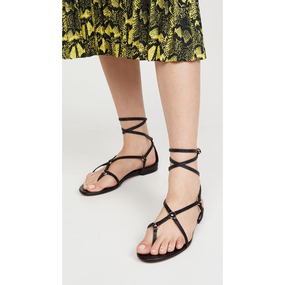 スリーワン フィリップ リム 3.1 Phillip Lim レディース サンダル・ミュール フラット シューズ・靴【Louise Strappy Flat Sandals】Black