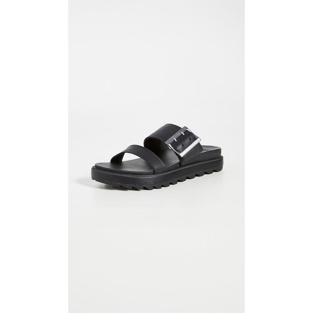 ソレル Sorel レディース サンダル・ミュール シューズ・靴【Roaming Buckle Slide Sandals】Black