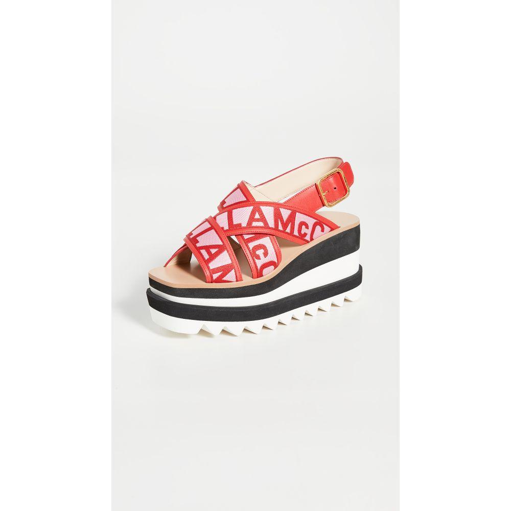ステラ マッカートニー Stella McCartney レディース サンダル・ミュール シューズ・靴【Sneak Elyse Sandals】Red Rose