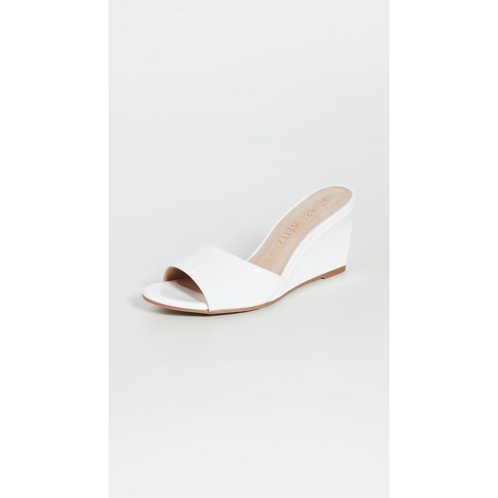 スチュアート ワイツマン Stuart Weitzman レディース サンダル・ミュール ウェッジソール シューズ・靴【Larunda Wedge Sandals】White