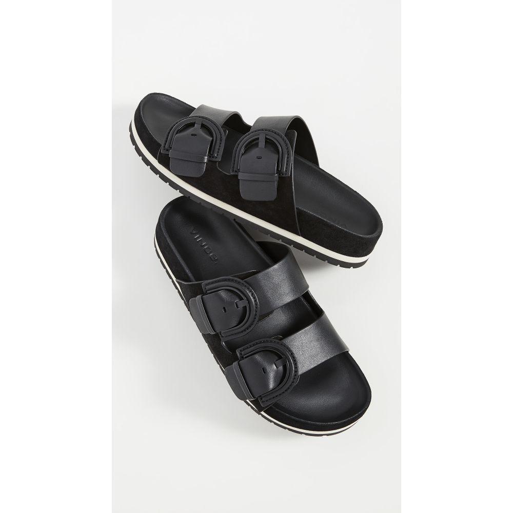 ヴィンス Vince レディース サンダル・ミュール シューズ・靴【Glyn Slides】Black