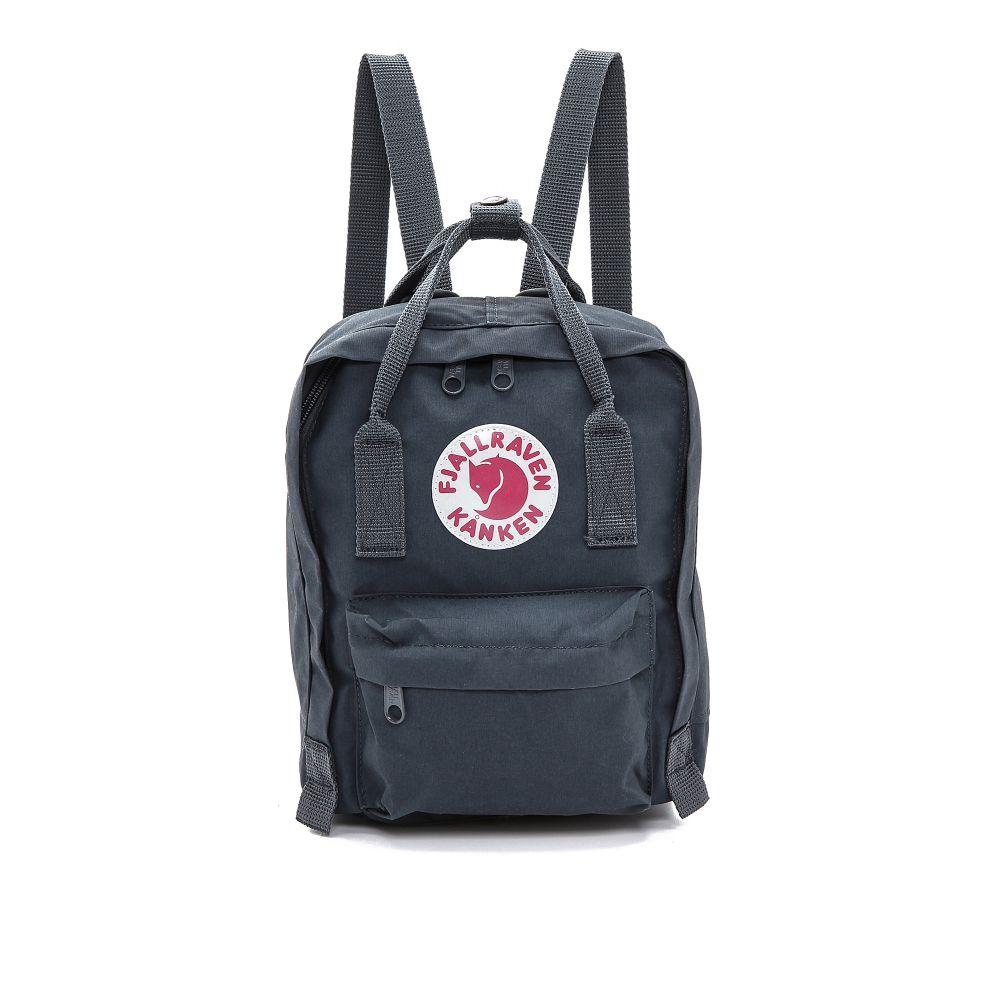 フェールラーベン Fjallraven レディース バックパック・リュック カンケン バッグ【Kanken Mini Backpack】Graphite