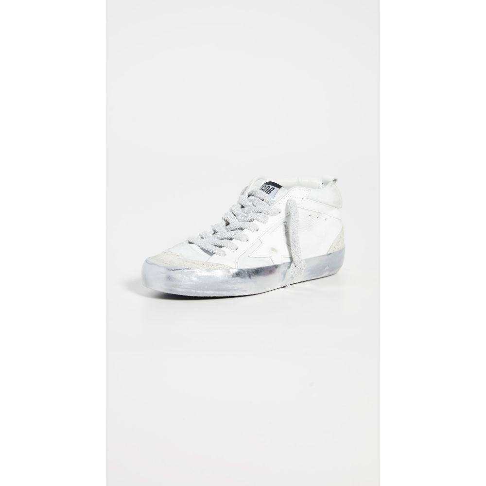 ゴールデン グース Golden Goose レディース スニーカー シューズ・靴【Mid Star Sneakers】Snow/Sparkle