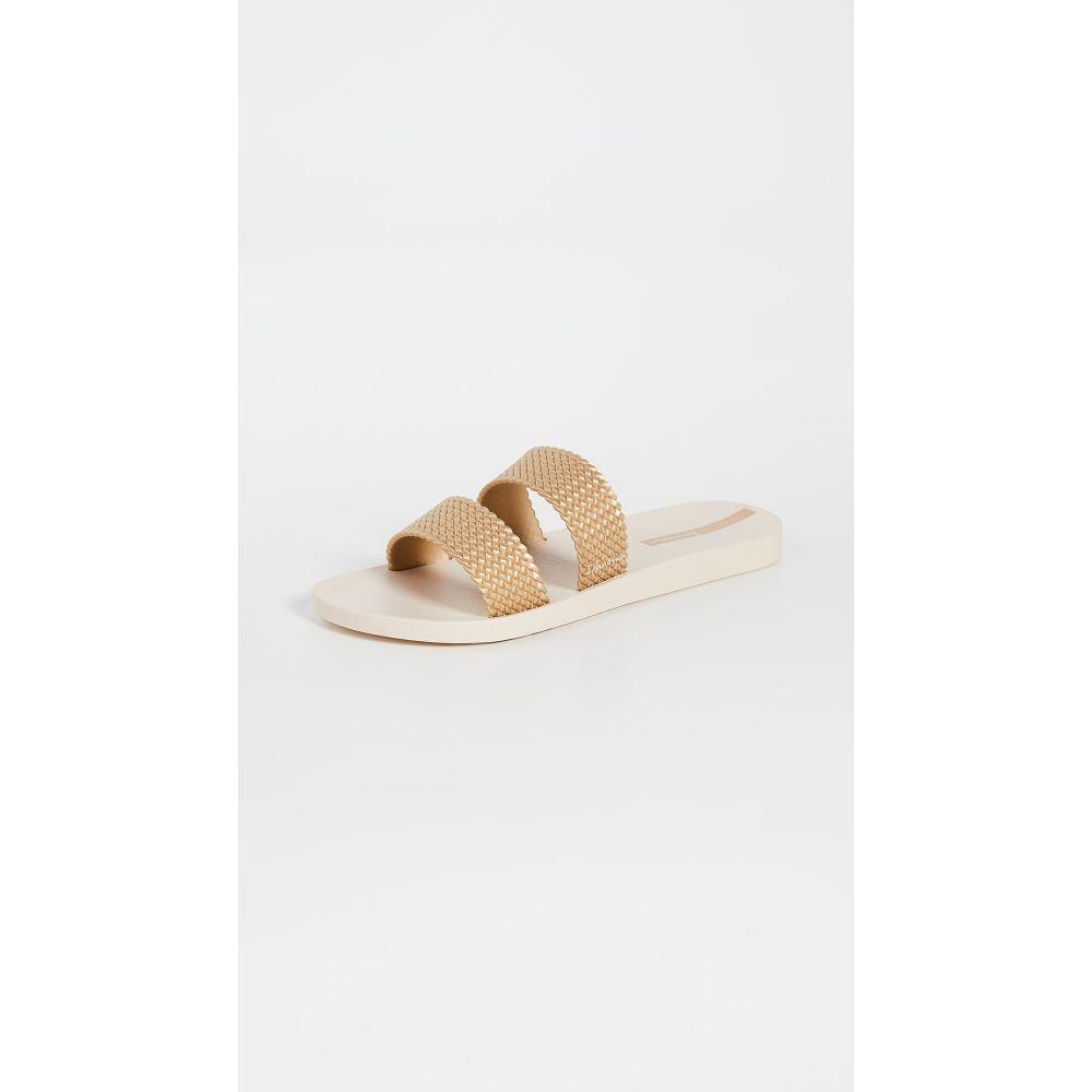 イパネマ Ipanema レディース サンダル・ミュール シューズ・靴【City Slides】Beige/Gold