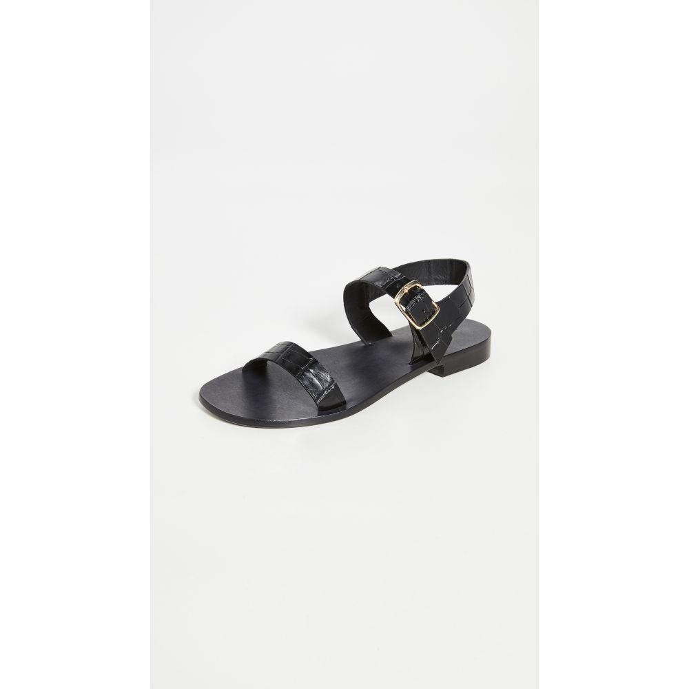 マンサーガブリエル Mansur Gavriel レディース サンダル・ミュール シューズ・靴【Buckle Sandals】Black