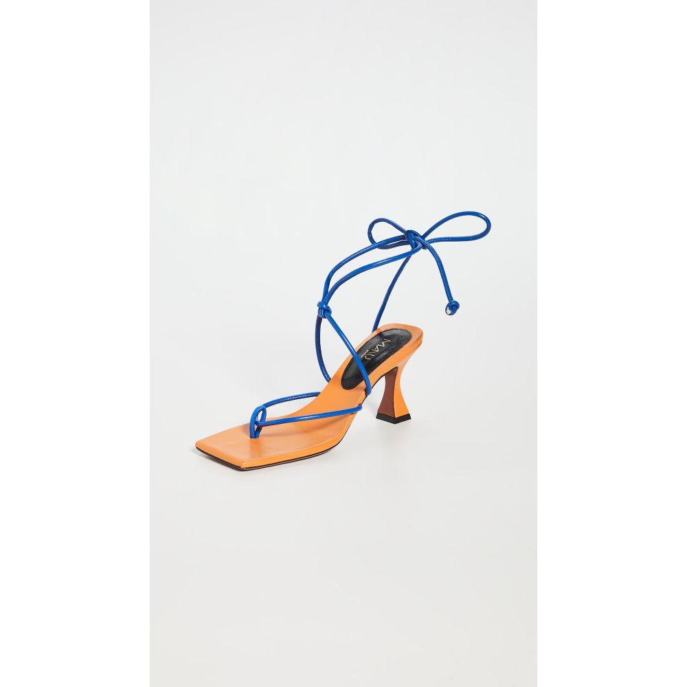 マニュ アトリエ MANU Atelier レディース サンダル・ミュール シューズ・靴【Freya XX Sandals】Matisse Blue/Pale Orange