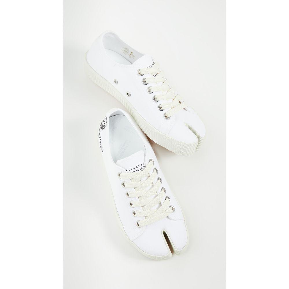 メゾン マルジェラ Maison Margiela レディース スニーカー シューズ・靴【Tabi Sneakers】White